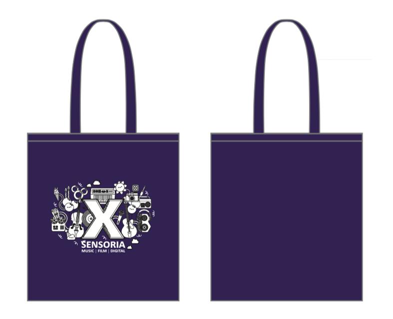 Sensoria Purple Tote Bag