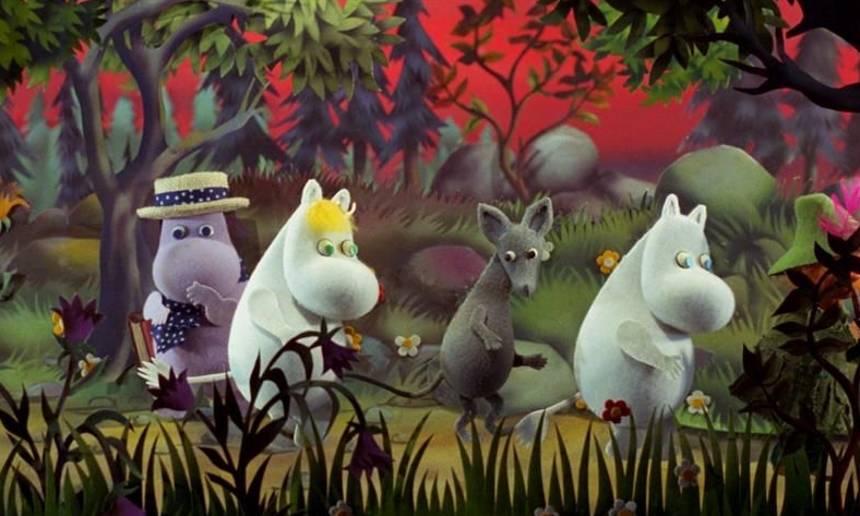 The Moomins and the Comet (U) + live soundtrack